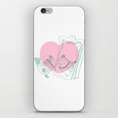 Lark mirror. iPhone & iPod Skin