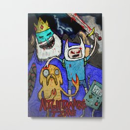 Nightmare Time Metal Print