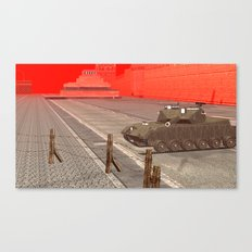 SquaRed: ArmouReady Canvas Print