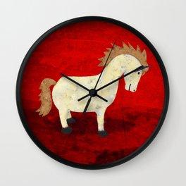 Vintage Pony Design Wall Clock