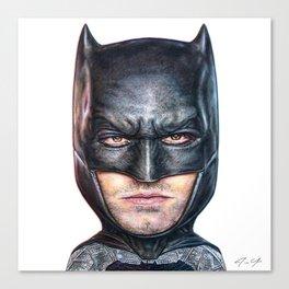 Bat Bobble Canvas Print