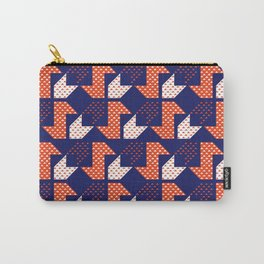 Clover&Nessie Denim/Apple Carry-All Pouch
