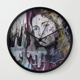 Jaula de Piel y Hueso Wall Clock