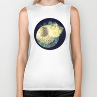 atlas Biker Tanks featuring Atlas Planet by Jasmine Smith