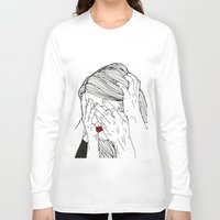 introvert Long Sleeve T-shirts featuring Introvert 2 by Heidi Banford