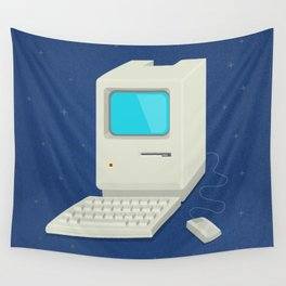 Retro computer Wall Tapestry