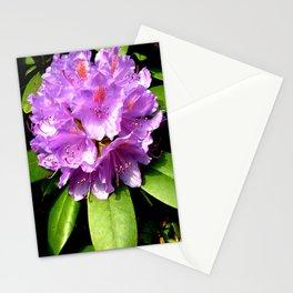 Garden Flower Purple Stationery Cards