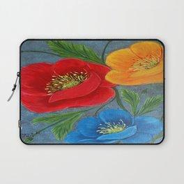 Poppies-3 Laptop Sleeve