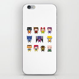 Pixel X-Men iPhone Skin