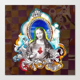 Sagrado Coração de Jesus (Sacred Heart) #1 Canvas Print