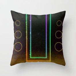 Hi-Fi Decadence (2/2) Throw Pillow