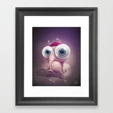 Beanie Framed Art Print
