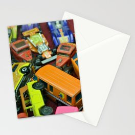 Toy Cars Stationery Cards