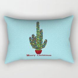 Southwest Christmas Tree Rectangular Pillow