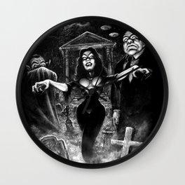 Vampira Plan 9 Wall Clock