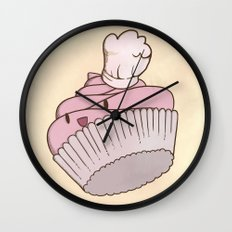 The Cupcake Chef Wall Clock