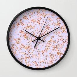 HAZY MISS DAISY PRINT Wall Clock