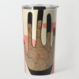 High Five in Warms Travel Mug