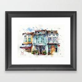 Clive Street, Little India, Singapore Framed Art Print