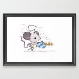 Bakery Mouse Framed Art Print