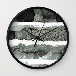 Black Stripe #2 Wall Clock