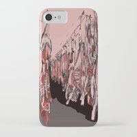 meat iPhone & iPod Cases featuring Meat by Robert Morris