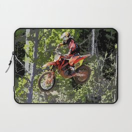 High Flying Racer - Motocross Champ Laptop Sleeve