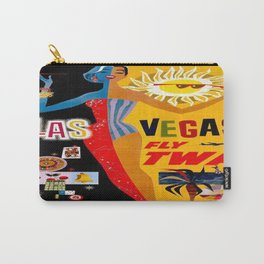 Vintage poster - Las Vegas Carry-All Pouch
