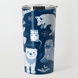 Arctic nature Travel Mug