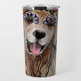 Golden Retriever Service Dog (Ryver) Travel Mug