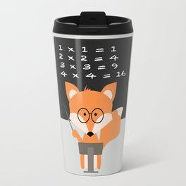 Teacher Fox Travel Mug