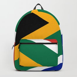 South African flag of South Africa Backpack