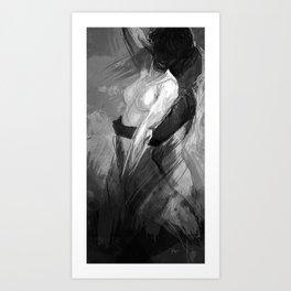 Lovers no.3 Art Print