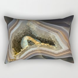 Patterns of agate gem Rectangular Pillow