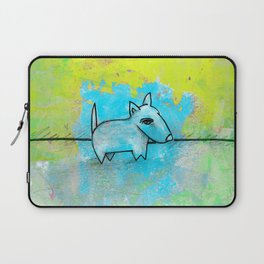 Dog No.1k by Kathy Morton Stanion Laptop Sleeve