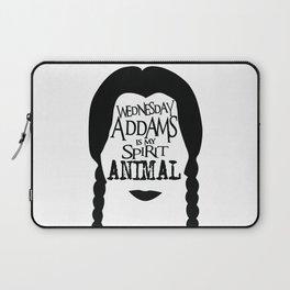 Wednesday Addams is my Spirit Animal Laptop Sleeve