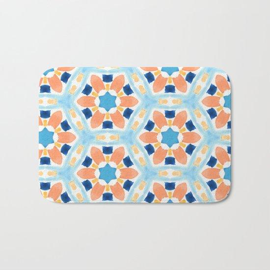 Moroccan Pattern V1 #society6 #decor #buyart Bath Mat