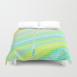 Re-Created Croix VIII by Robert S. Lee Duvet Cover