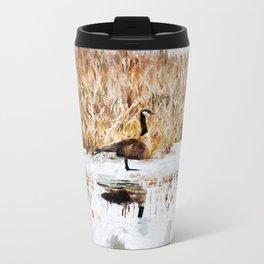 The Lone Traveler Metal Travel Mug