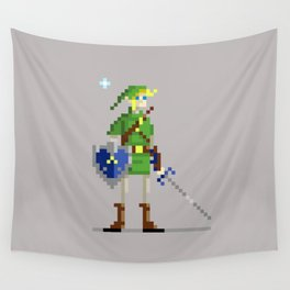 Pixel Link Wall Tapestry
