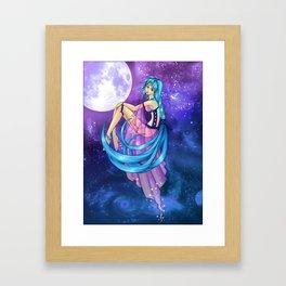 .:Celestial Goddess:. Framed Art Print