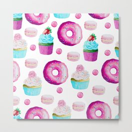 Fun Sweets Metal Print