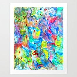 Water Moon #Society6  #decor  #buy art Art Print