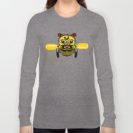 Hei Tiki Bee Toy Long Sleeve T-shirt