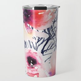 Roses on Sticks Travel Mug