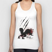 bad wolf Tank Tops featuring Bad wolf by Halopromise