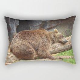 Teddy Bear At Rest Rectangular Pillow