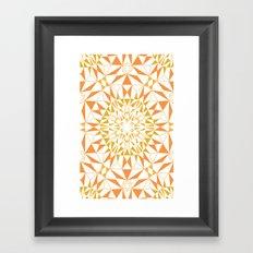 Love Triangle 5 Framed Art Print