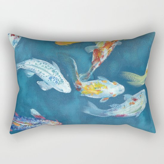 Karpi Koi Rectangular Pillow