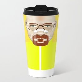 Walter White Metal Travel Mug